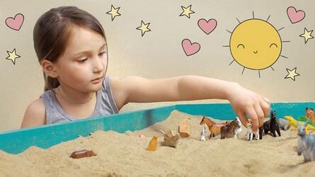сеансы песочной терапии